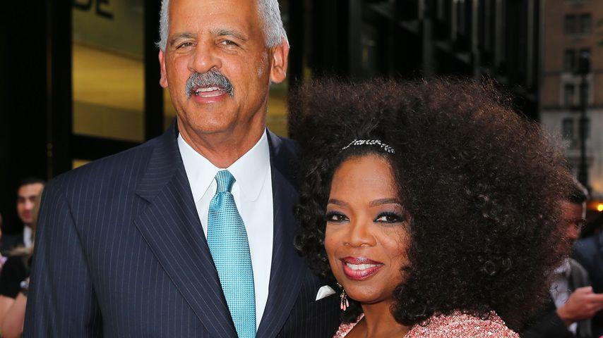 Oprah Winfrey mit Stedman Graham