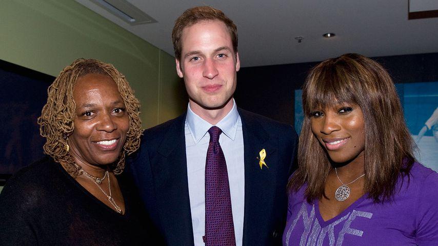 Oracene Price, Prinz William und Serena Williams