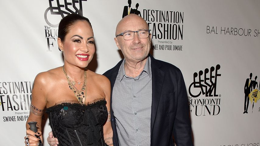 Abserviert: Phil Collins' Ex trennte sich per Textnachricht