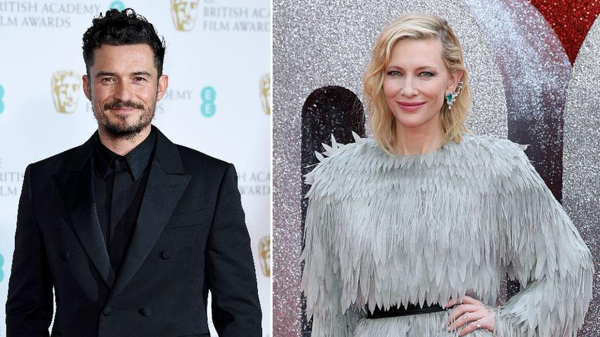 Süße Beichte: Orlando Bloom war verliebt in Cate Blanchett