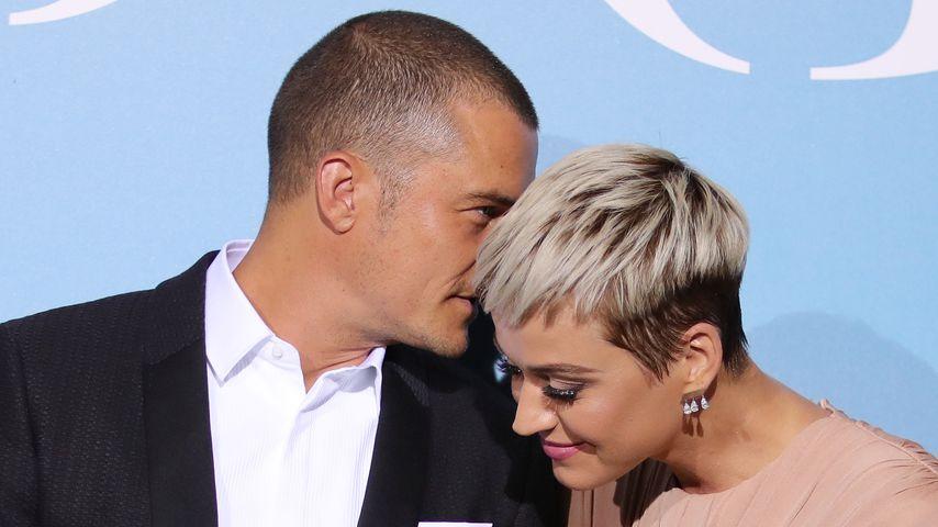 Nach Liebes-Wirrwarr: Katy & Orlando machen's offiziell!
