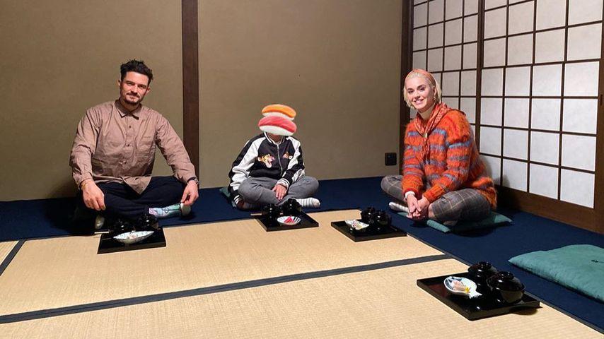 Thanksgiving mal anders: Orlando und Katy feiern in Japan