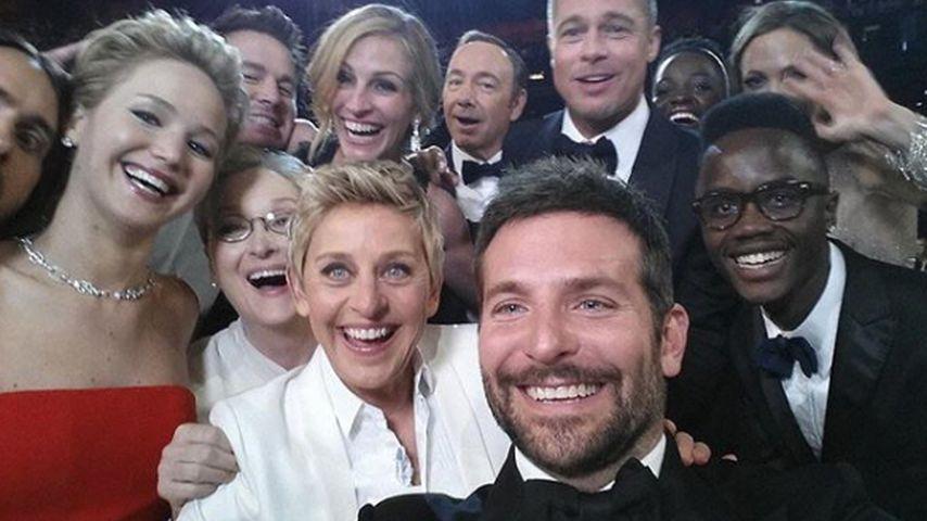 Oscar-Selfie von Ellen DeGeneres 2014