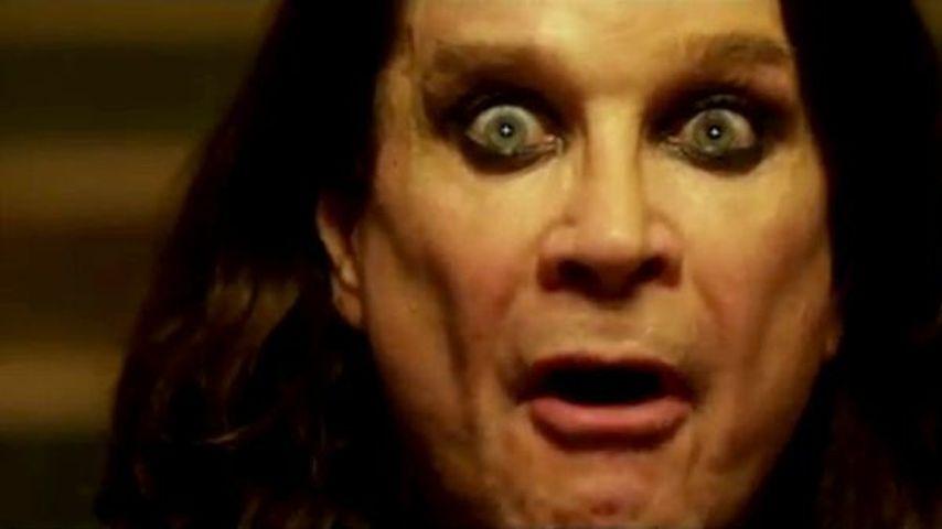 Ozzy Osbourne crasht Ferrari