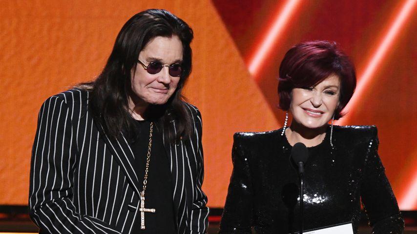 Ozzy und Sharon Osbourne bei den Grammy Awards im Januar 2020