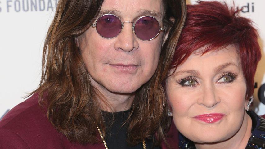 Ozzy Osbourne und Sharon Osbourne im Februar 2015