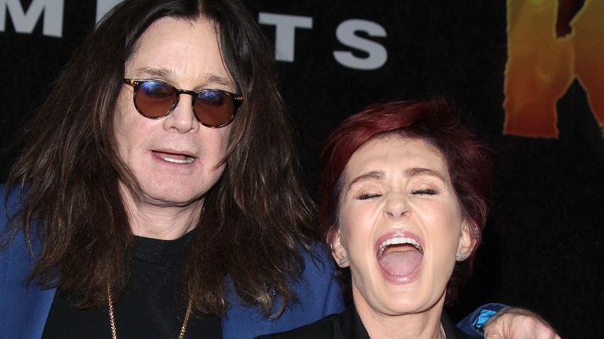 """Sharon Osbourne und Ozzy Osbourne beim """"Ozzfest meets Knotfest"""" in Los Angeles"""