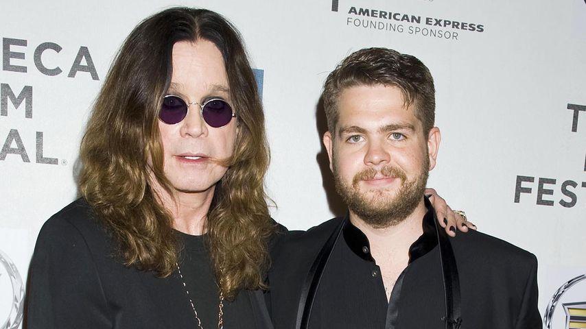 Ozzy und Jack Osbourne in New York
