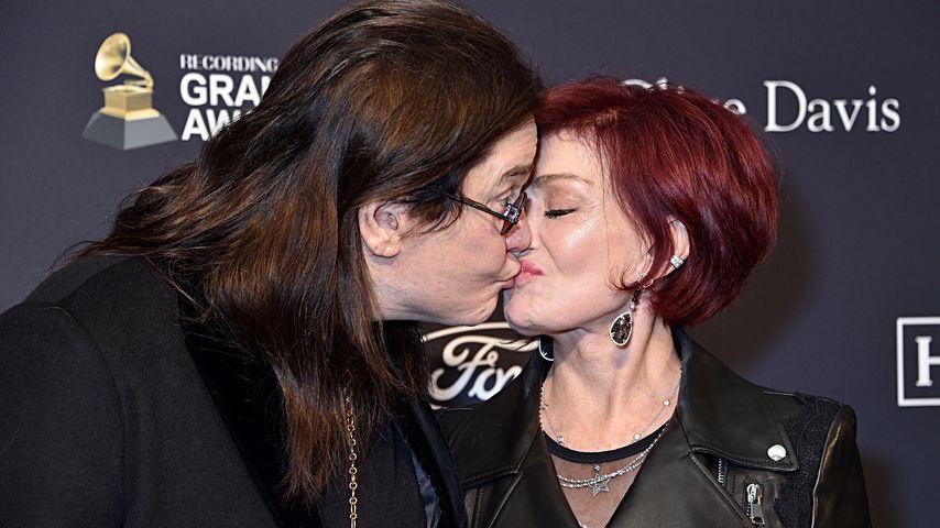 Ozzy und Sharon Osbourne Januar 2020