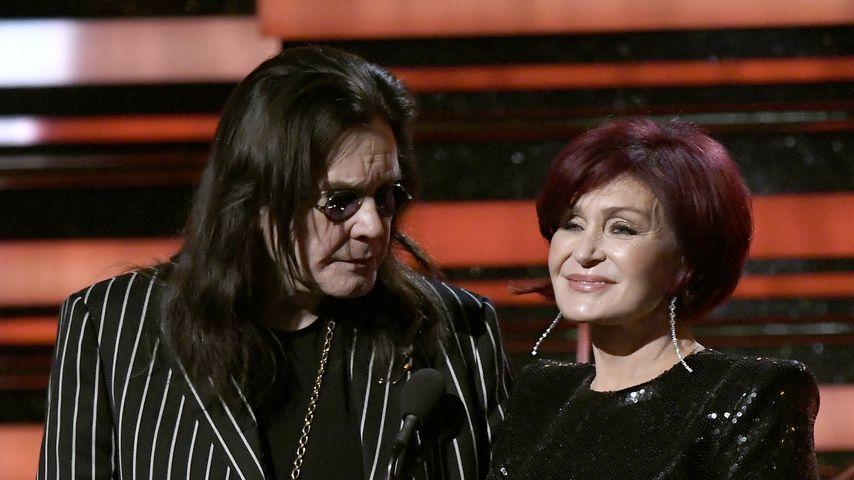 Ozzy und Sharon Osbourne bei den Grammy Awards 2020