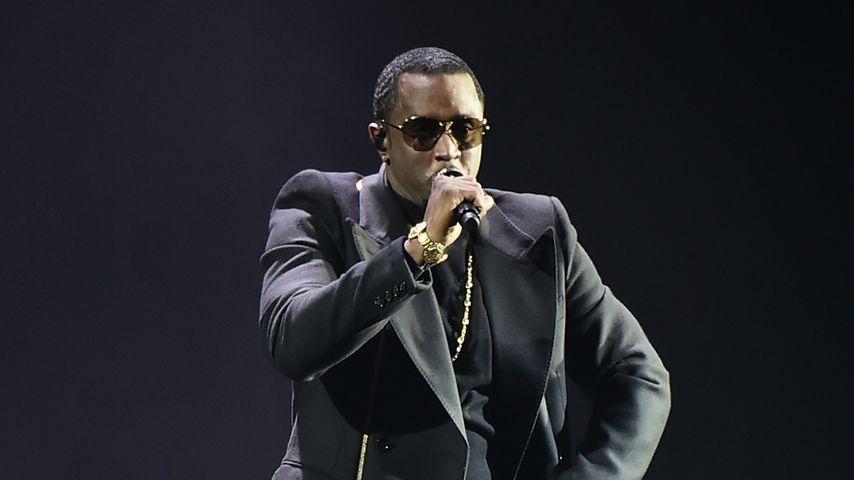 P. Diddy bei einem Konzert in New York City