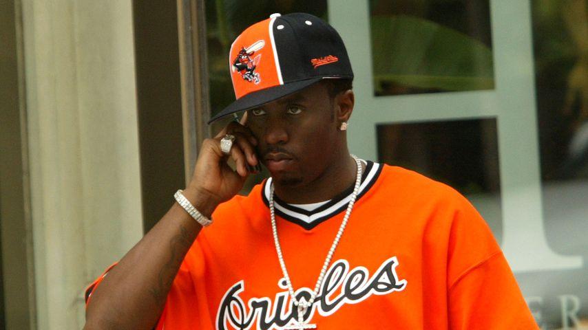 Rapper P. Diddy im Jahr 2003