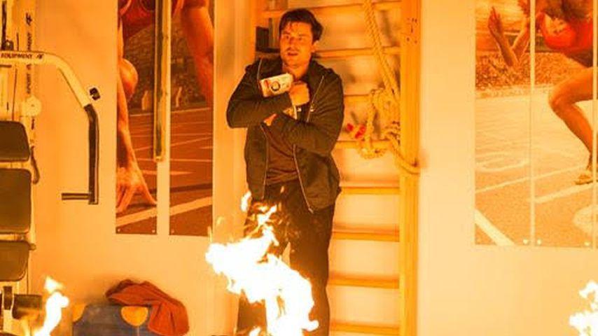 """Flammen-Inferno bei """"Unter Uns"""": Die Turnhalle brennt nieder"""