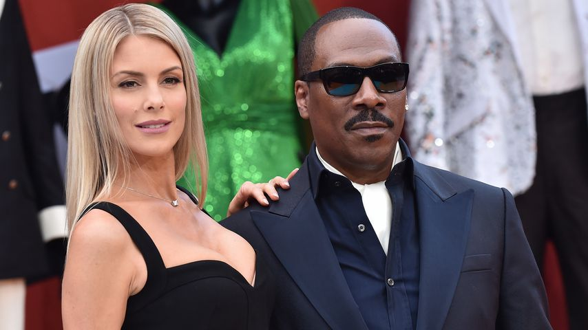 Paige Butcher und Eddie Murphy, September 2019