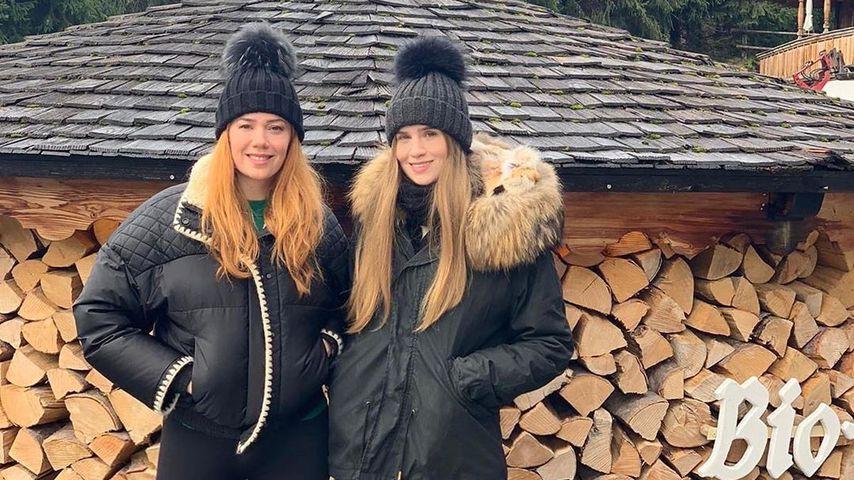 Palina Rojinski und ihre Schwester Vivi