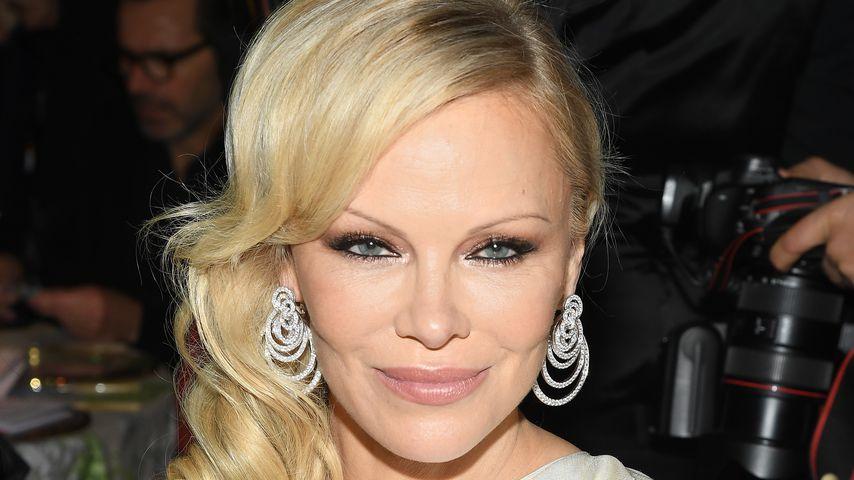 Pamela Anderson im Januar 2019 in Paris