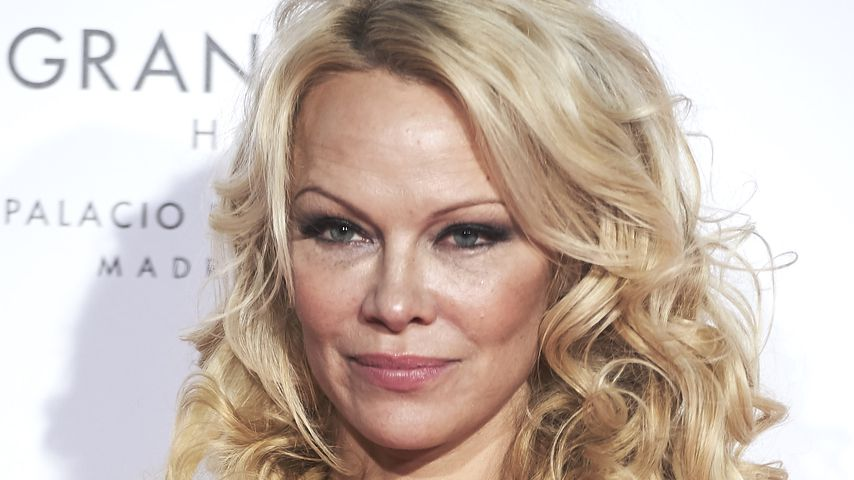 Pamela Anderson auf der The Global Gift Gala 2018 in Madrid