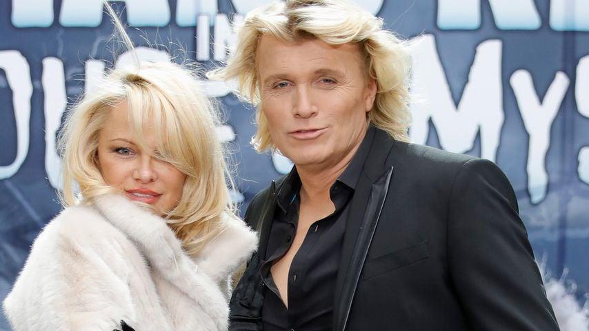 Pamela Anderson und Hans Klok