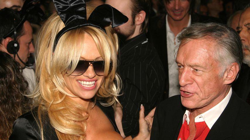 Fesch: Pamela Anderson zeigt sich in sexy Dirndln!