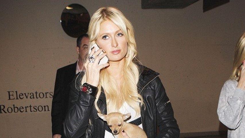 Messer-Angriff? Paris Hiltons Flugzeug evakuiert