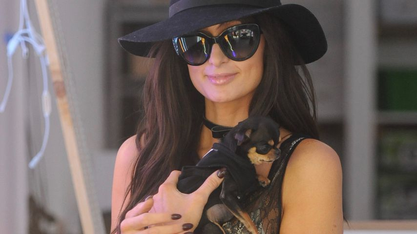 Bye, bye, Barbie-Look? Paris Hilton rockt braune Lockenmähne