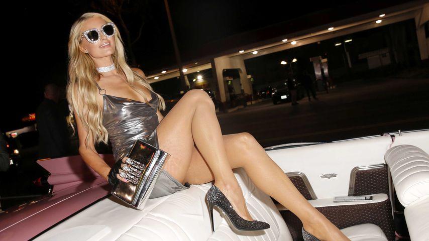 Paris Hilton beim Launch ihrer Boohoo-Kollektion 2018