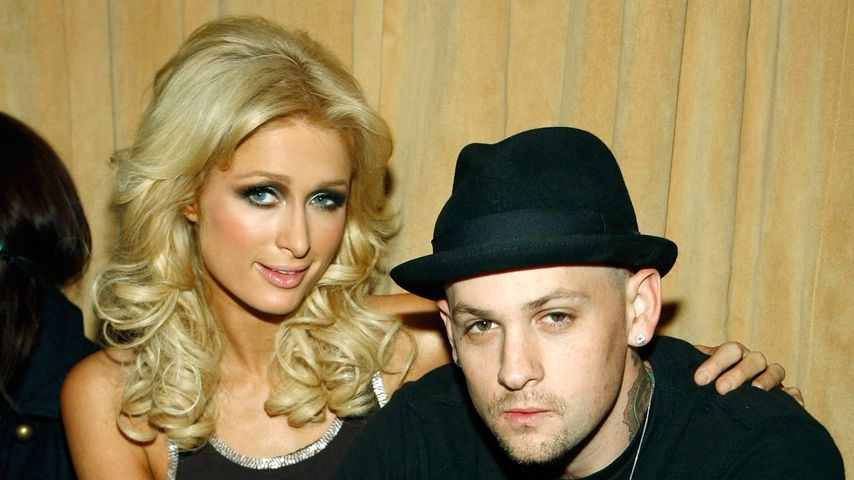 Paris Hilton und Benji Madden, November 2008