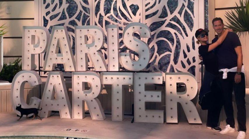 Paris Hilton und Carter Reum im Oktober 2021 in Las Vegas