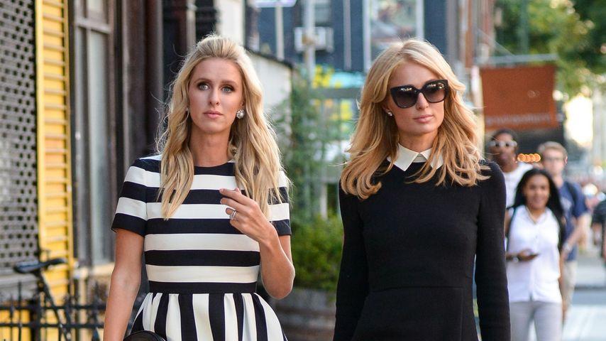 Stylish: Paris & Nicky Hilton machen die Straße zum Catwalk