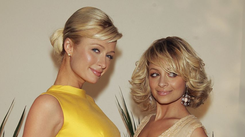 Paris Hilton und Nicole Richie im Januar 2005 in Los Angeles