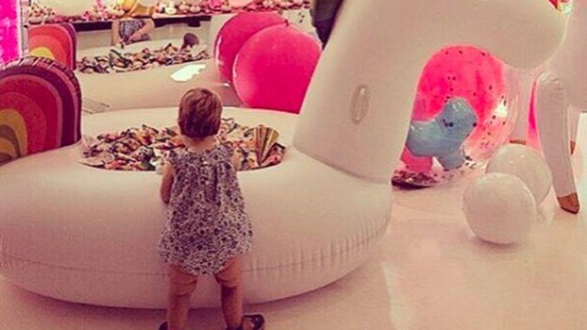 Paris Hiltons Nichte Lily-Grace an ihrem Geburtstag