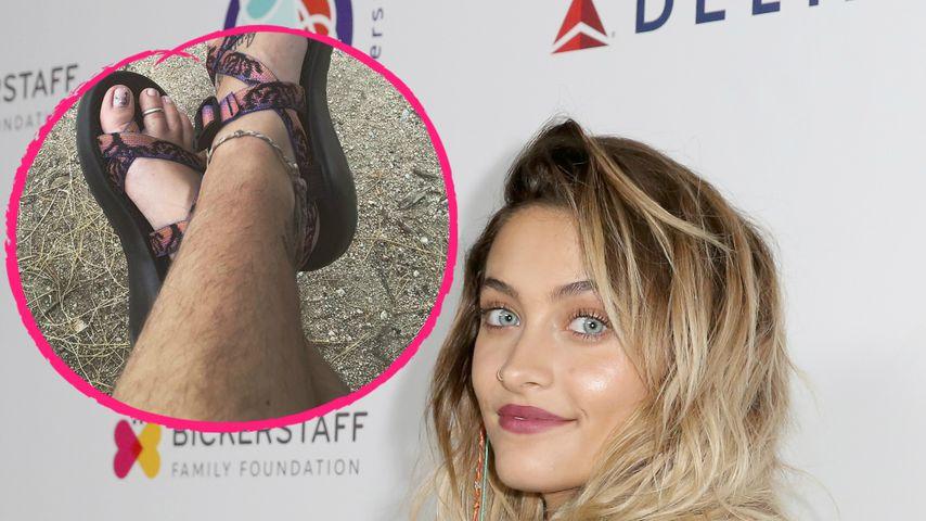 Haariger Hippie-Look: Paris Jackson zeigt unrasierte Beine!
