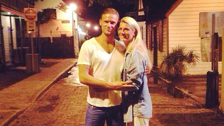Pascal Behrenbruch mit seiner Freundin