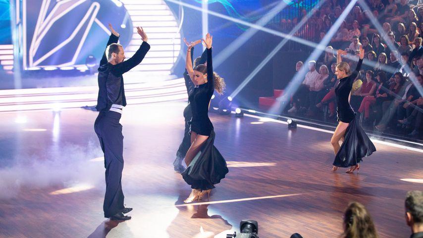 """Pascal Hens, Ekaterina Leonova und Ella Endlich bei """"Let's Dance"""" 2019"""