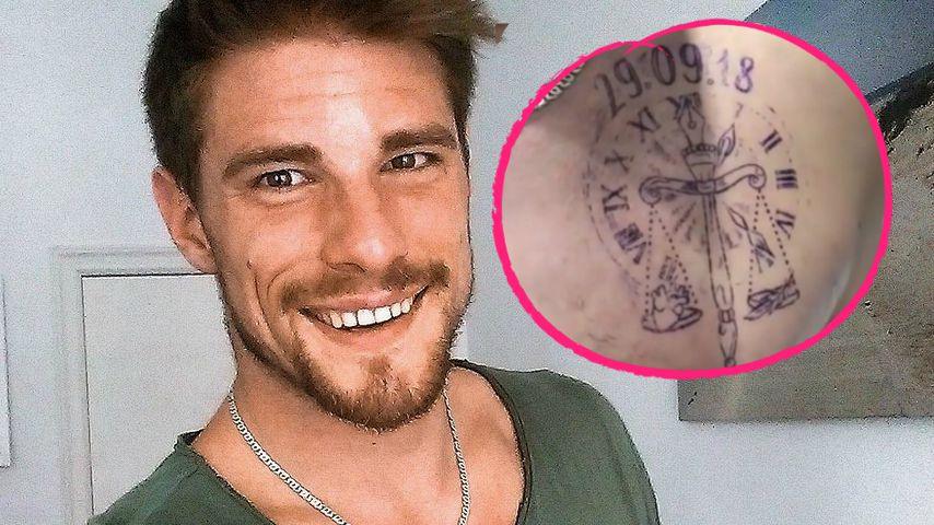Pascal lässt sich zweites Tattoo für Kappi-Junior stechen!