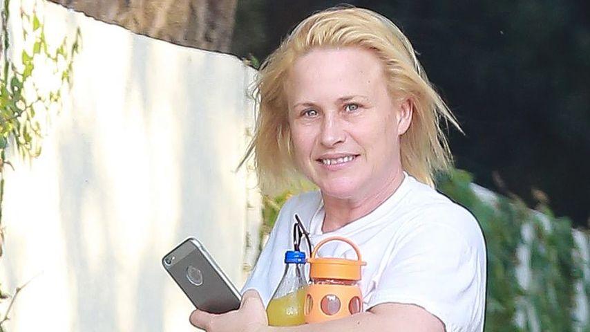 Oops! Patricia Arquette mit üblem Hosenp(l)atzer