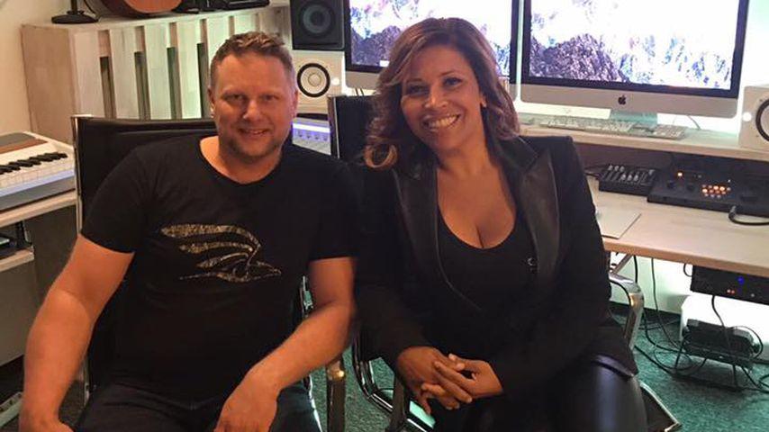 Patricia Blanco im Tonstudio: Sie nimmt ihren 1. Song auf!