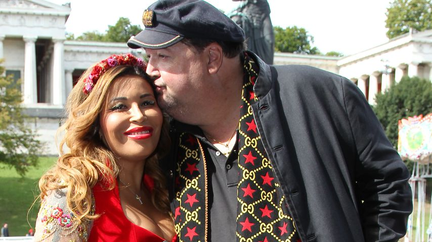Patricia Blanco und Andreas erstmals als Paar auf der Wiesn!