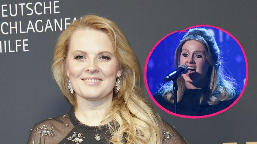 """""""Hatte Panik"""": Patricia Kelly litt anfangs unter Adele-Maske"""