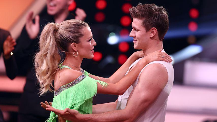 "Patricija Belousova und Simon Zachenhuber bei ""Let's Dance"""