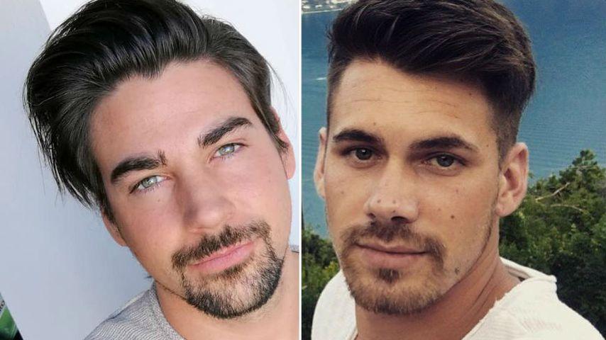 """Collage: Patrick Cuninka und Brian Dwyer, """"Die Bachelorette""""-Kandidaten von 2015 und 2018"""
