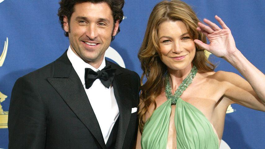 Patrick Dempsey und Ellen Pompeo  bei den Emmy Awards in L.A. im September 2005