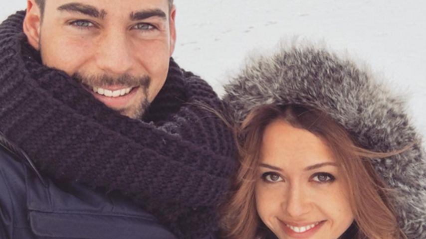 Romantisches Schneegestöber: Patrick & Alisa im Winterglück