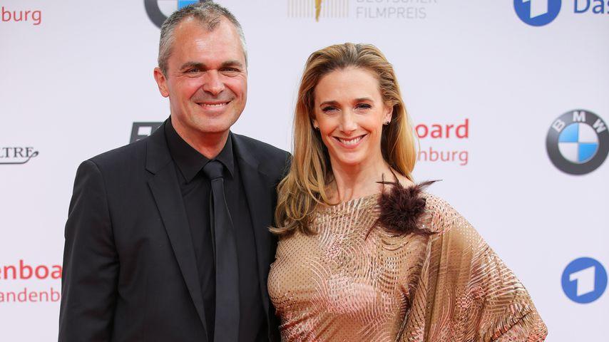 Patrick Winczewski und Kristin Meyer beim Deutschen Filmpreis 2018
