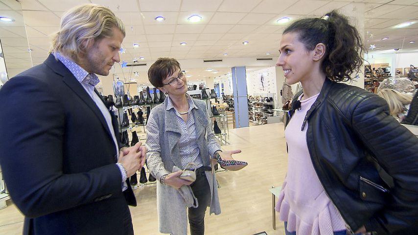 """Paul Janke mit """"Shopping Queen""""-Kandidatin Monique"""