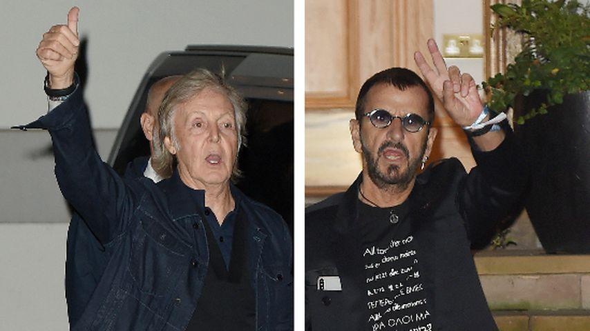 """50 Jahre """"Abbey Road"""": Beatles-Mitglieder feiern Jubiläum!"""