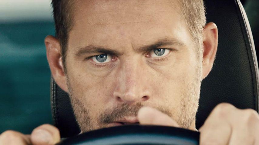 """Paul Walker in einer Filmszene von """"Fast & Furious 7"""""""