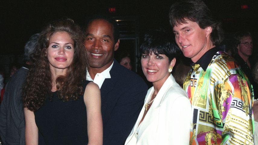 Paula Barbieri, O.J. Simpson, Kris Jenner und Bruce Jenner im Jahr 1993