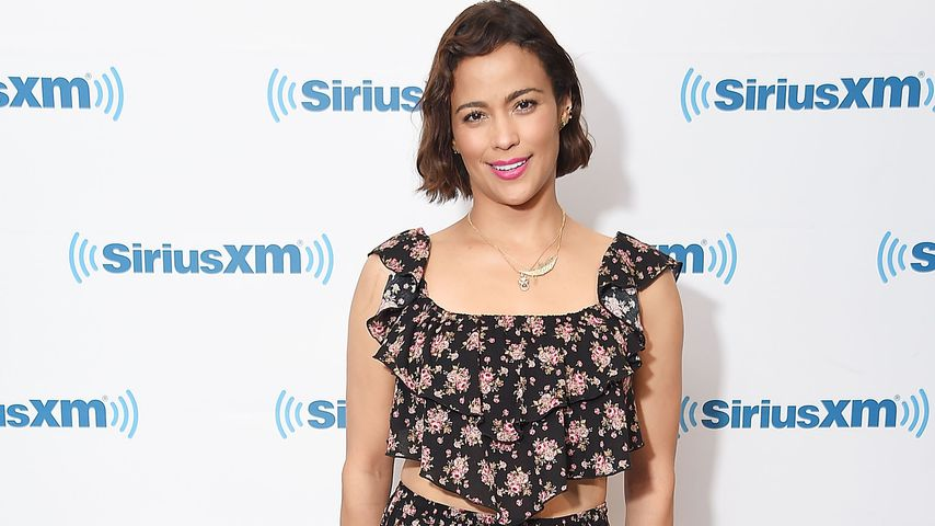 Paula Patton in den SiriusXM Studios in New York