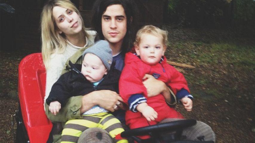 Phaedra Geldof-Cohen: Peaches' Sohn wird heute ohne Mami 2